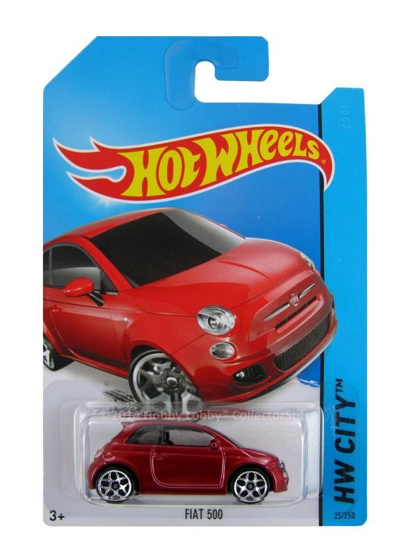 Hot Wheels - Coleção 2014  - Fiat 500