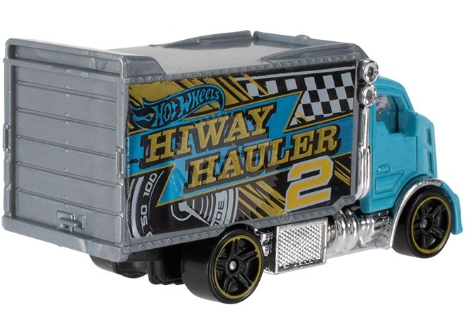 Hot Wheels - Coleção 2014 - Hiway Hauler 2 [Azul]  - Hobby Lobby CollectorStore