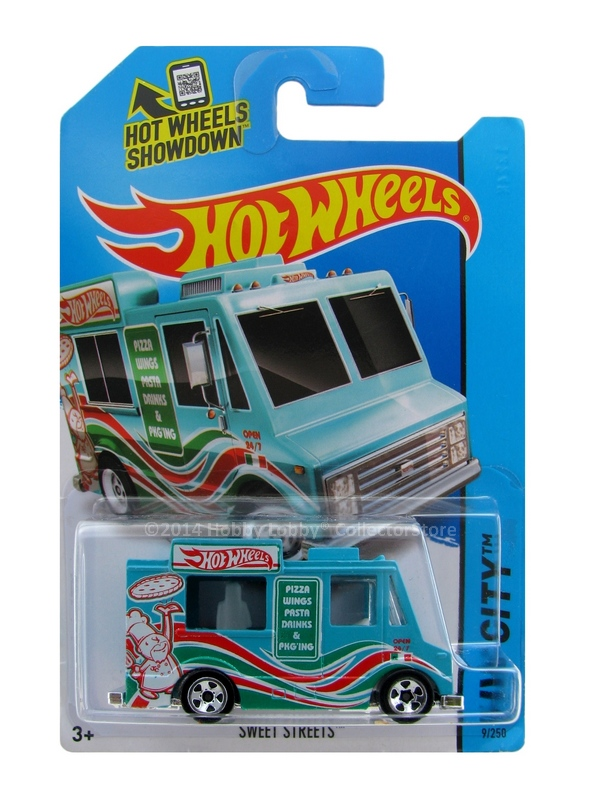 Hot Wheels - Coleção 2014 - Ice Cream Truck (Sweet Street)