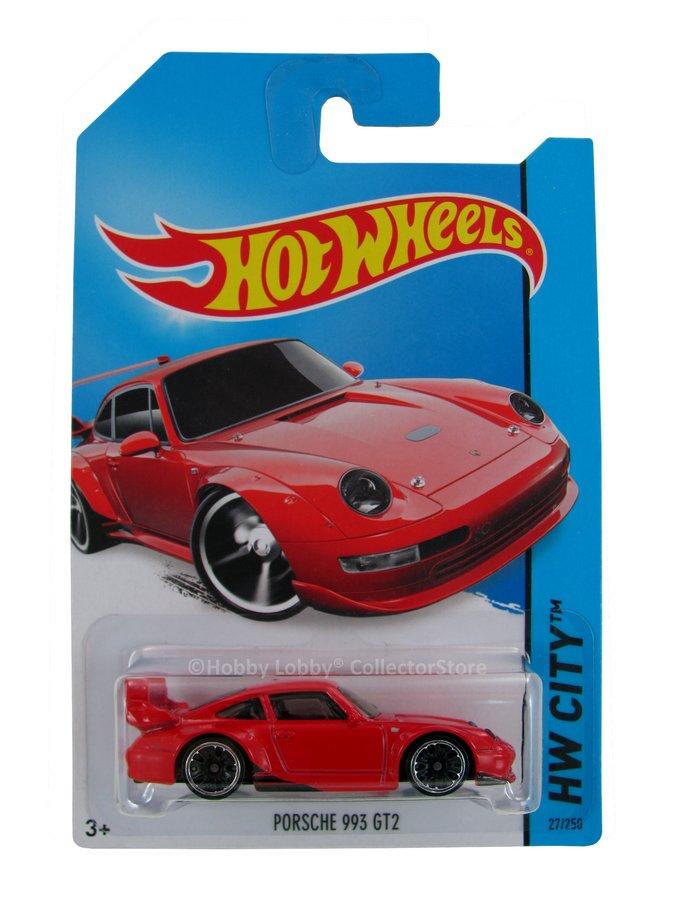 Hot Wheels - Coleção 2014 - Porsche 993 GT2