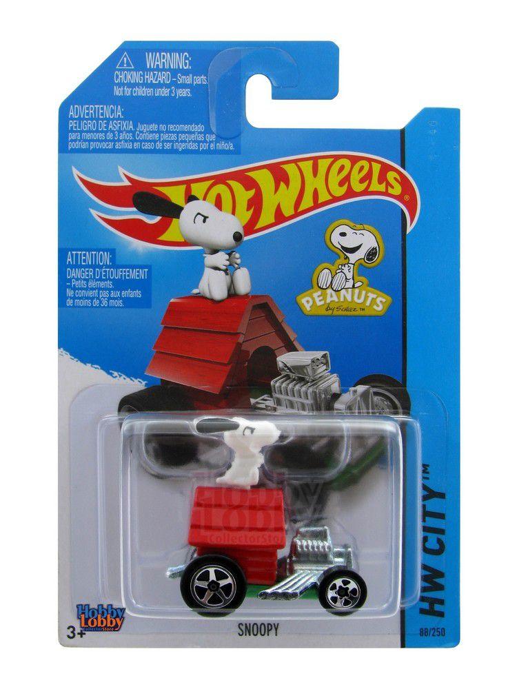Hot Wheels - Coleção 2014 - Snoopy