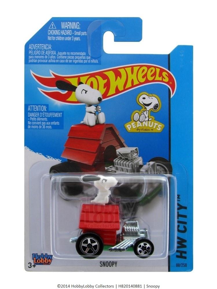 Hot Wheels - Coleção 2014 - Snoopy  - Hobby Lobby CollectorStore