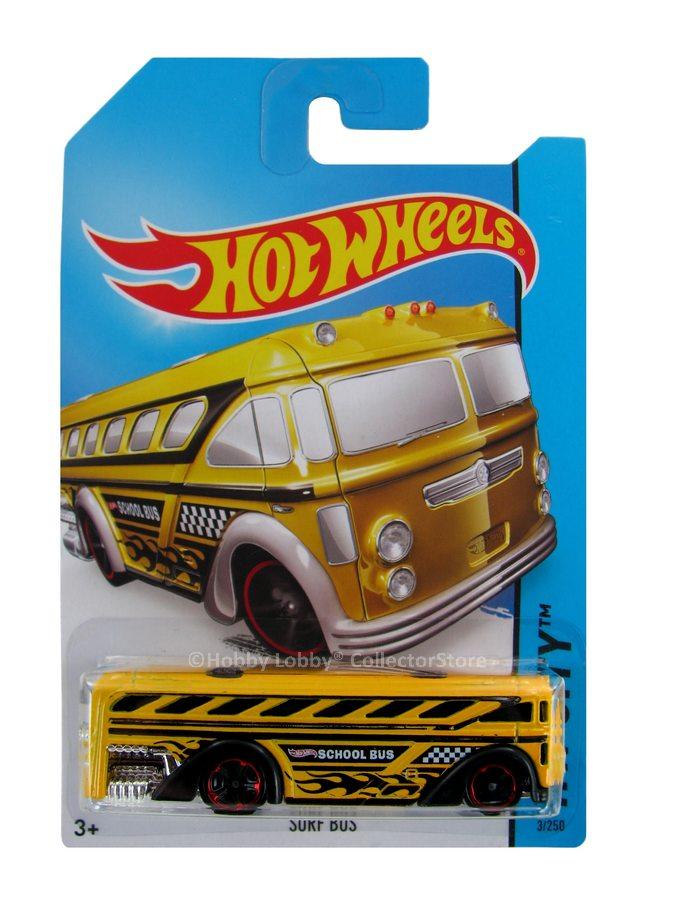 Hot Wheels - Coleção 2014 - Surf Bus