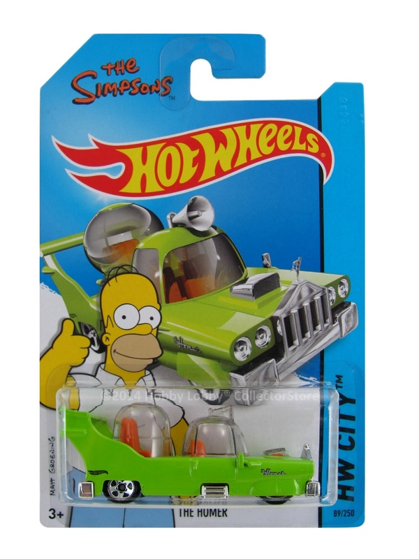 Hot Wheels - Coleção 2014  - The Homer - Simpsons