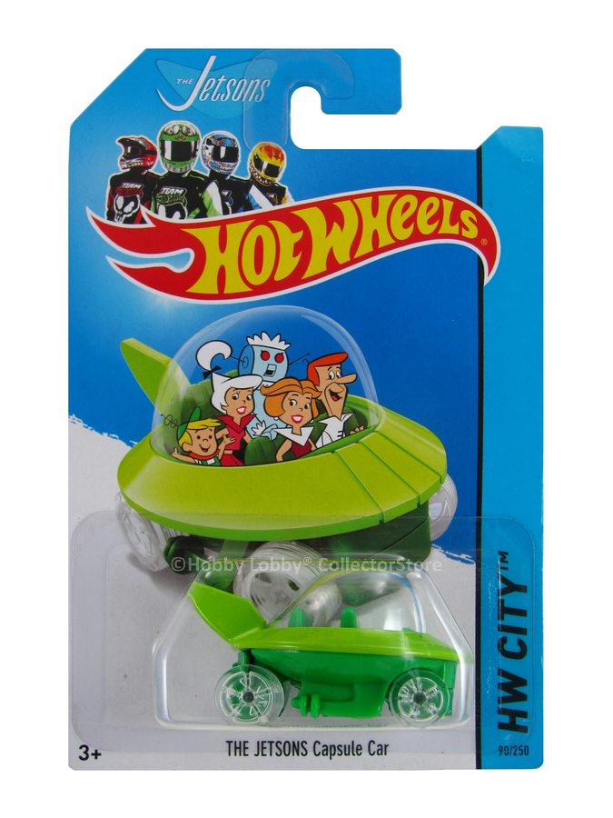 Hot Wheels - Coleção 2014  - The Jetsons - Capsule Car