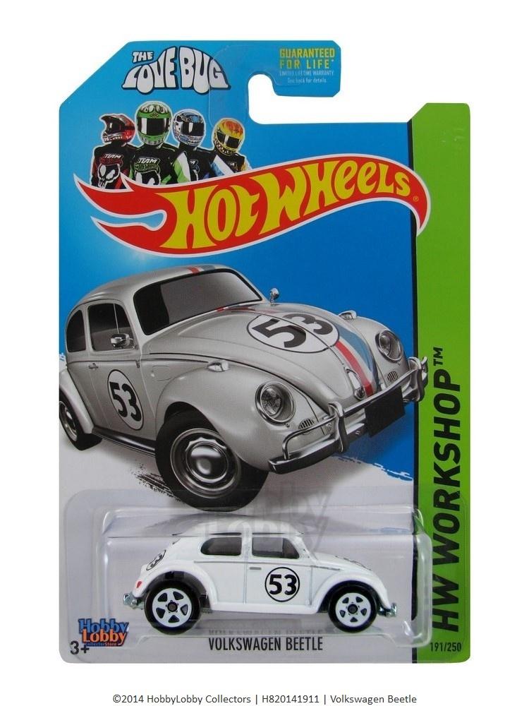 Hot Wheels - Coleção 2014 - The Love Bug - VW Beetle  - Hobby Lobby CollectorStore