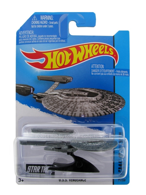 Hot Wheels - Coleção 2014 - U.S.S. Vengeance  - Hobby Lobby CollectorStore