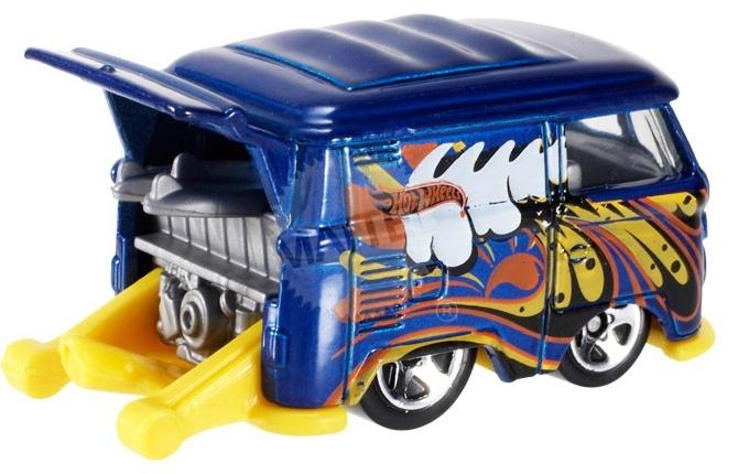 Hot Wheels - Coleção 2014 - Volkswagen Kool Kombi [Azul]  - Hobby Lobby CollectorStore