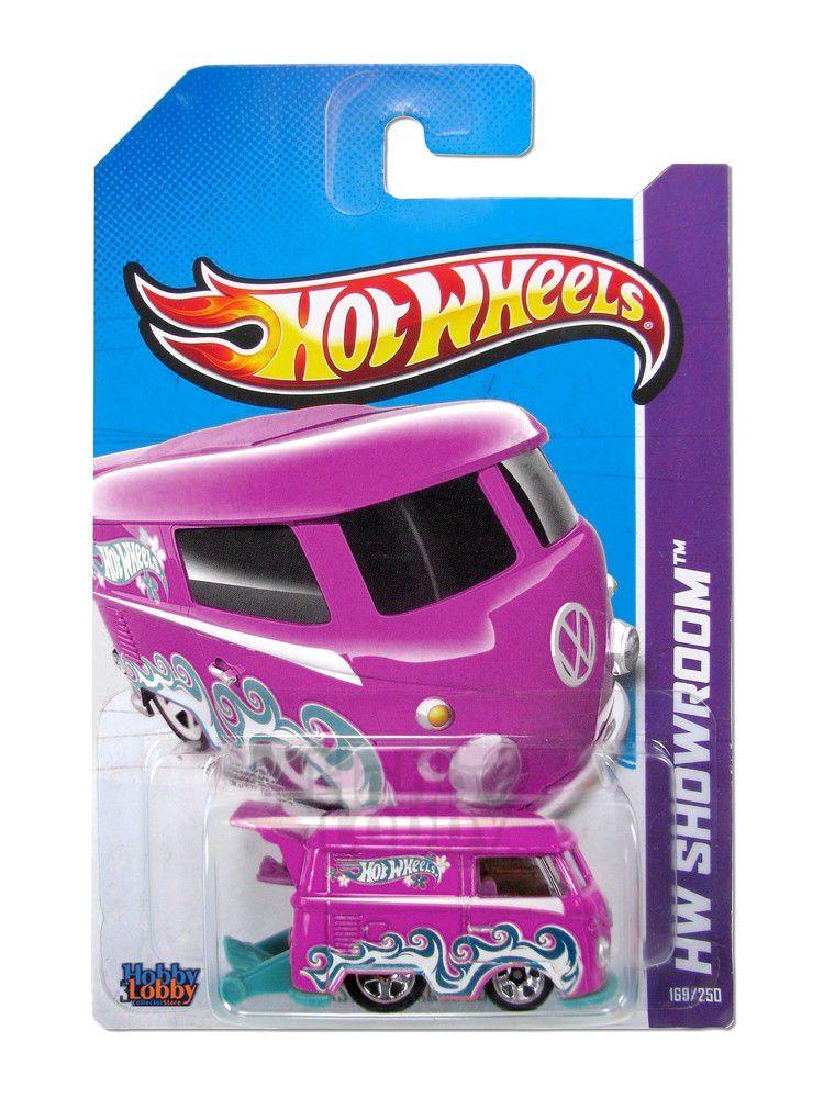 Hot Wheels - Coleção 2014 - Volkswagen Kool Kombi - custom [Repintura]  - Hobby Lobby CollectorStore