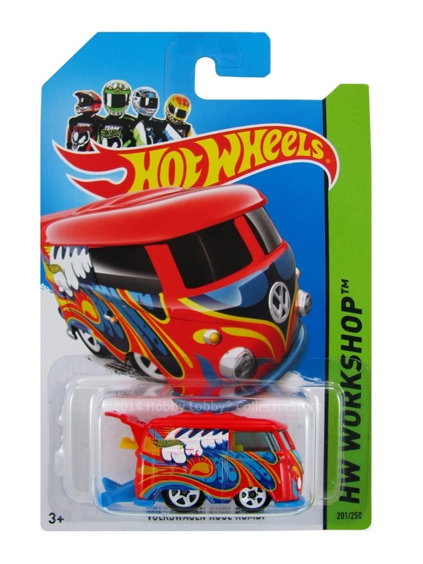 Hot Wheels - Coleção 2014 - Volkswagen Kool Kombi [Vermelha]