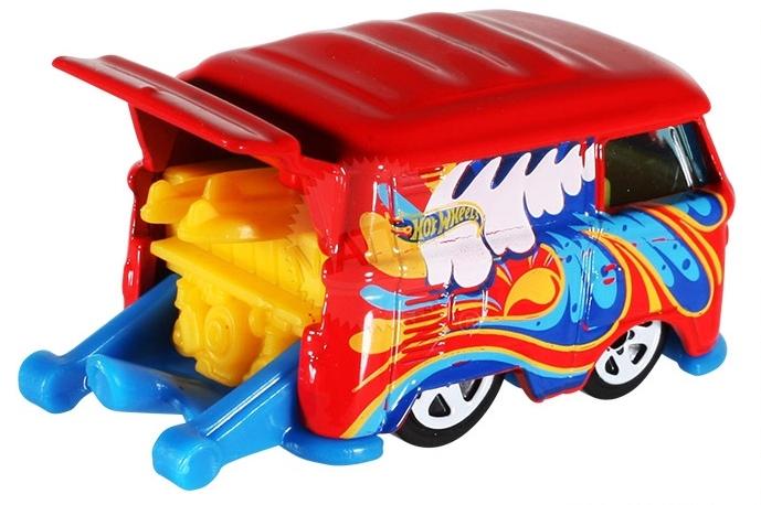 Hot Wheels - Coleção 2014 - Volkswagen Kool Kombi [Vermelha]  - Hobby Lobby CollectorStore