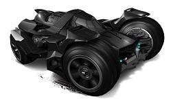 Hot Wheels - Coleção 2015 - Batman Arkham Knight Batmobile  - Hobby Lobby CollectorStore