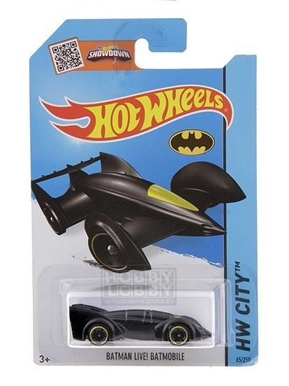 Hot Wheels - Coleção 2015 - Batman - Live Batmobile  - Hobby Lobby CollectorStore