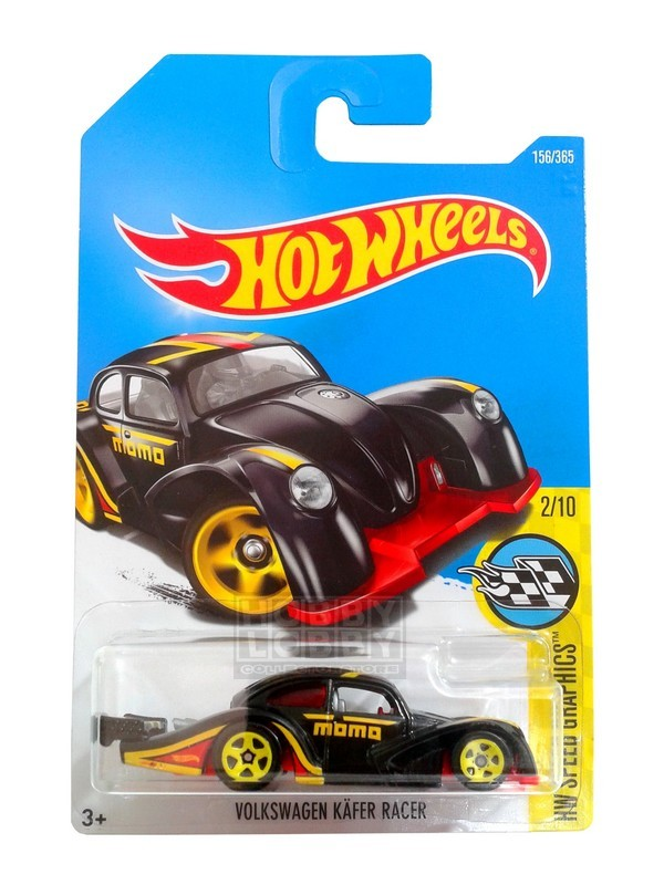 Hot Wheels - Coleção 2017 - Volkswagen Kafer Racer (preto)