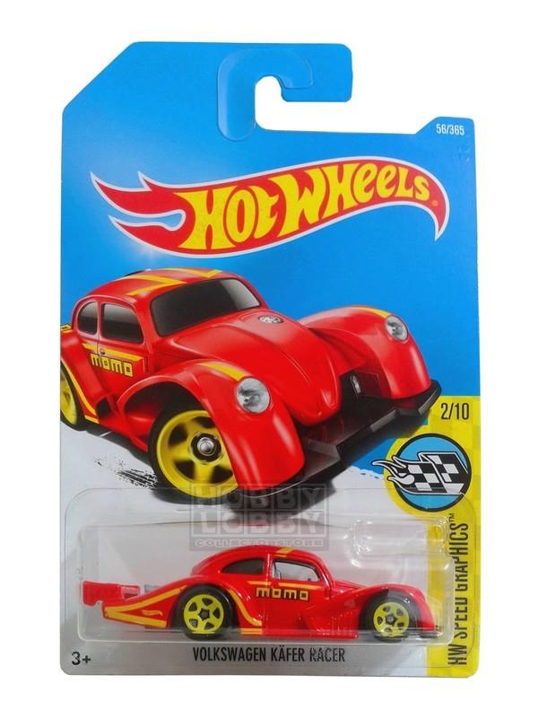 Hot Wheels - Coleção 2017 - Volkswagen Kafer Racer (vermelho)