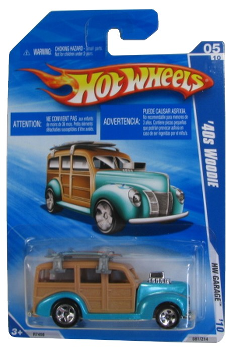 Hot Wheels - Coleção 2010 - ´40 Woodie  - Hobby Lobby CollectorStore