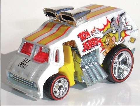 Hot Wheels - Culture Pop 2014 - Hanna-Barbera - Tom & Jerry - Cool One  - Hobby Lobby CollectorStore
