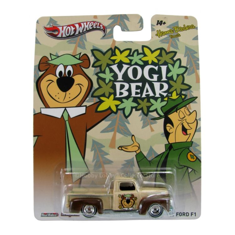 Hot Wheels - Culture Pop 2014 - Hanna-Barbera -  Yogi Bear - ´49 Ford F1