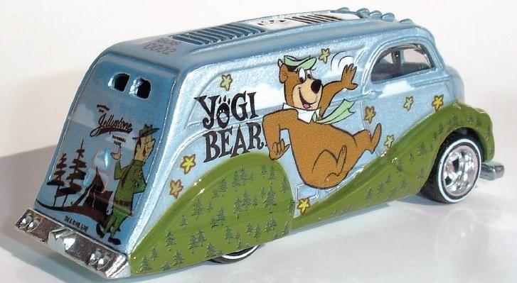 Hot Wheels - Culture Pop 2014 - Hanna-Barbera - Yogi Bear - Deco Delivery  - Hobby Lobby CollectorStore