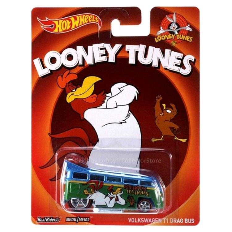 Hot Wheels - Culture Pop - Looney Tunes - Volkswagen T1 Drag Bus - Hobby Lobby CollectorStore