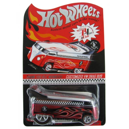 Hot Wheels - Red Line Club - Customized VW Drag Bus