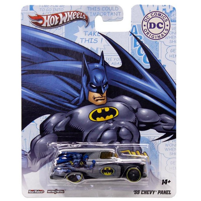Hot Wheels - DC Comics Originals - ´55 Chevy Delivery  - Hobby Lobby CollectorStore