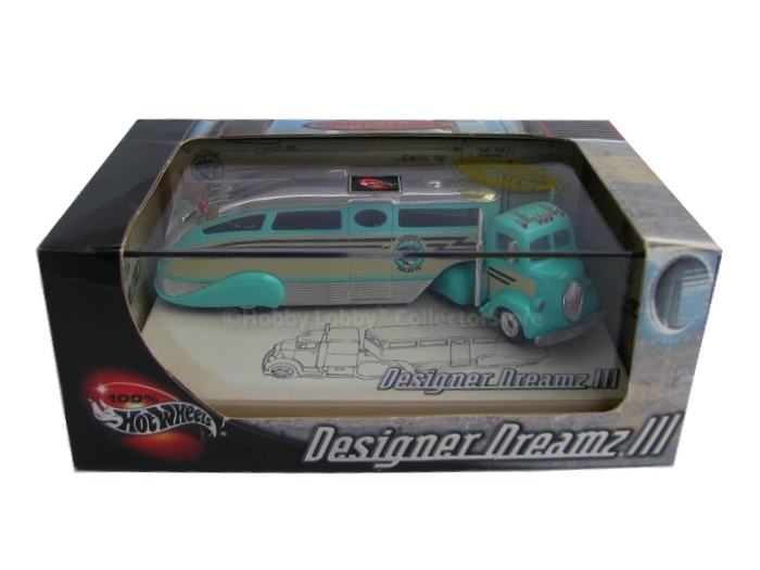 Hot Wheels - Designer Dreamz III - ´38 Ford Custom Truck with Trailer AIRSTREAM