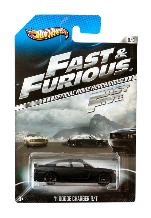Hot Wheels - Fast & Furious - ´11 Dodge Charger R/T  - Hobby Lobby CollectorStore