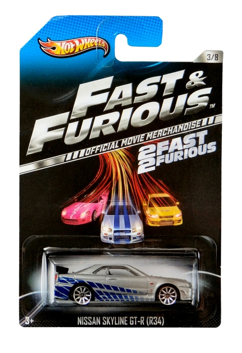 Hot Wheels - Fast & Furious - Nissan Skyline GT-R (R34)