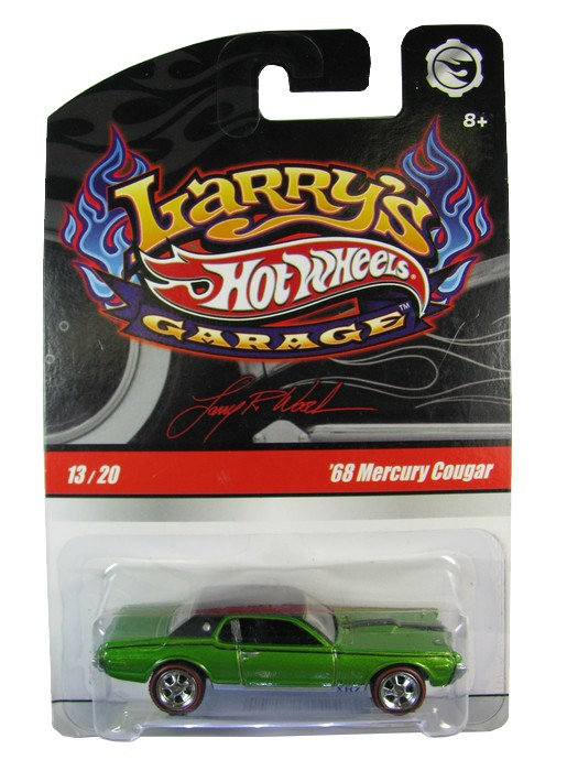 Hot Wheels - Larry´s Garage - ´68 Mercury Cougar [verde]