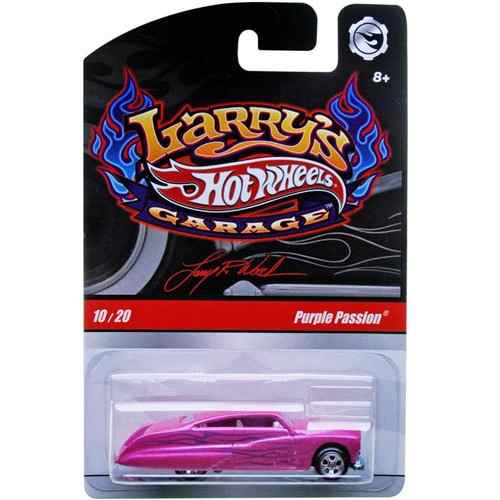 Hot Wheels - Larry´s Garage - Purple Passion  - Hobby Lobby CollectorStore