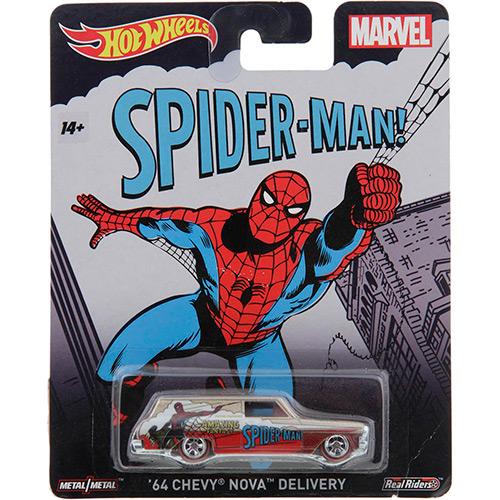 Hot Wheels - 2015 Pop Culture - Marvel - `64 Chevy Nova Wagon