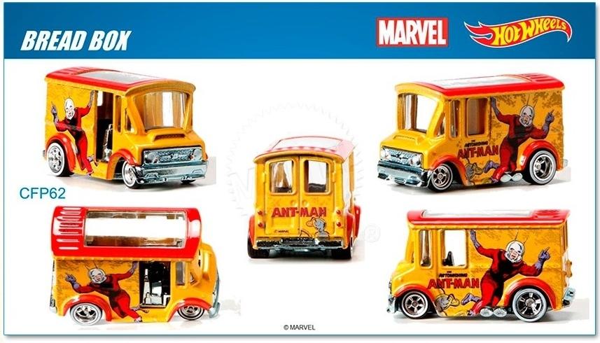 Hot Wheels - 2015 Pop Culture - Marvel - Bread Box  - Hobby Lobby CollectorStore