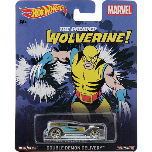 Hot Wheels - 2015 Pop Culture - Marvel - Double Demon Delivery - Hobby Lobby CollectorStore