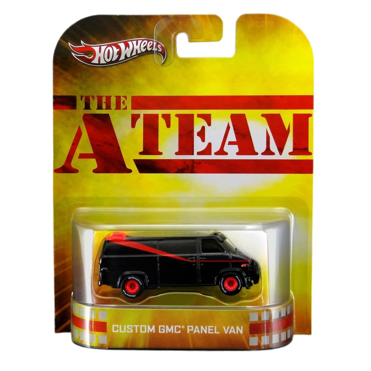 Hot Wheels - Retro Entertainment 2013 - A-Team - Custom GMC Panel Van
