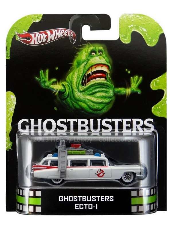 Hot Wheels - Retro Entertainment 2013 - Ghostbusters - ECTO 1  - Hobby Lobby CollectorStore