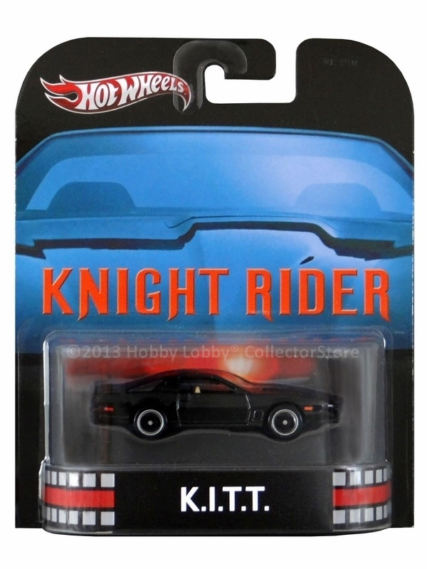 Hot Wheels - Retro Entertainment 2013 - Knight Rider - K.I.T.T  - Hobby Lobby CollectorStore