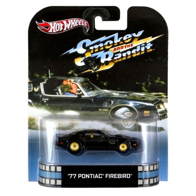 Hot Wheels - Retro Entertainment 2013 - Smokey and the Bandit - ´77 Pontiac Firebird  - Hobby Lobby CollectorStore