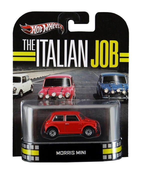Hot Wheels - Retro Entertainment 2013 - The Italian Job - Morris Mini (vermelho)