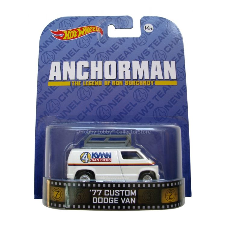Hot Wheels - Retro Entertainment 2014 - Anchorman - '77 Custom Dodge Van