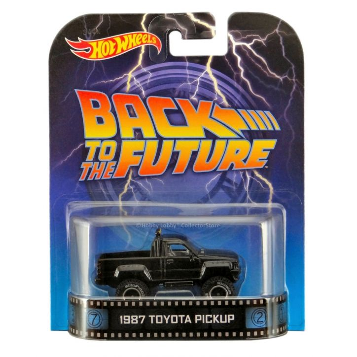 Hot Wheels - Retro Entertainment 2014 - Back to the Future - 1987 Toyota Pickup  - Hobby Lobby CollectorStore