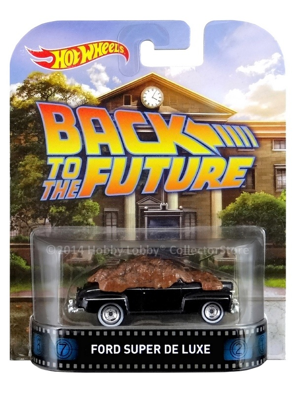 Hot Wheels - Retro Entertainment 2014 - Back to the Future -  `48 Ford Super Deluxe  - Hobby Lobby CollectorStore