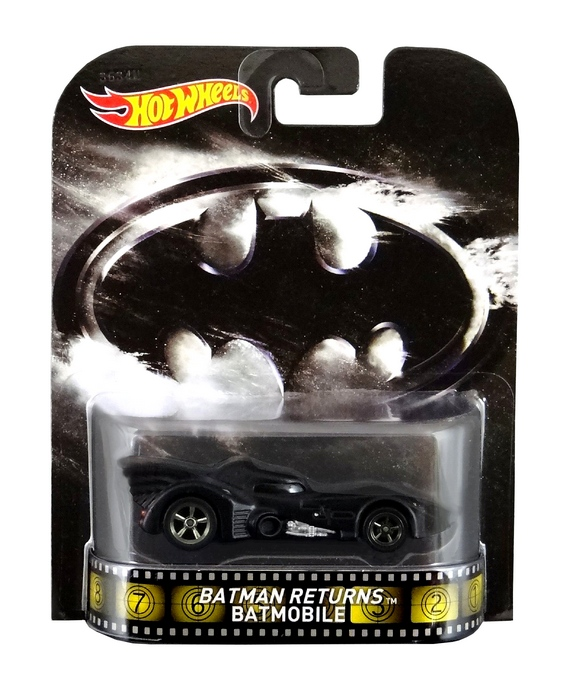 Hot Wheels - Retro Entertainment 2014 - Batman - Batmobile  - Hobby Lobby CollectorStore