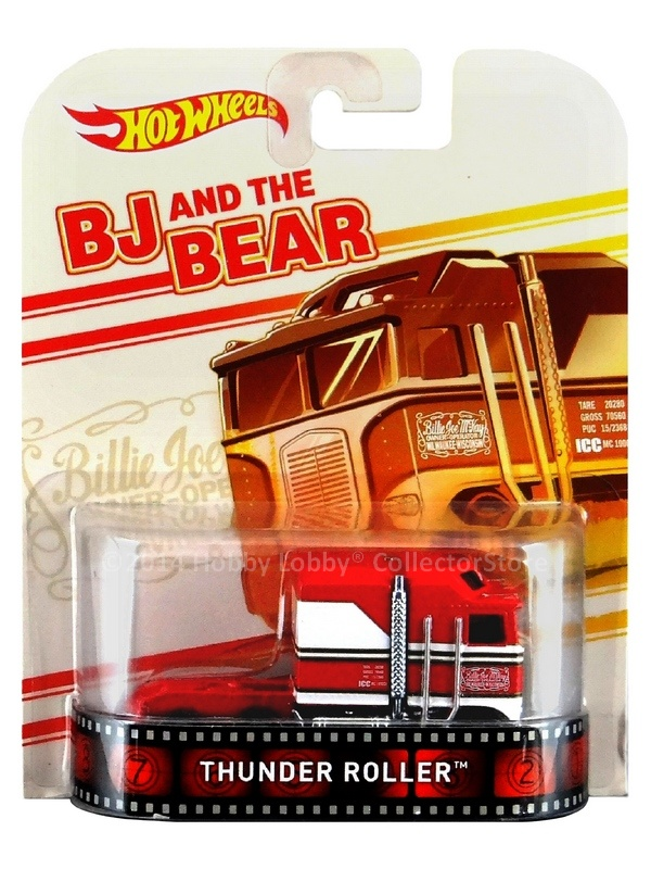 Hot Wheels - Retro Entertainment 2014 - BJ and the Bear - Thunder Roller  - Hobby Lobby CollectorStore