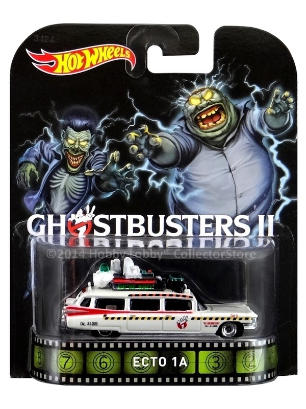 Hot Wheels - Retro Entertainment 2014 - Ghostbuster II - ECTO-1A