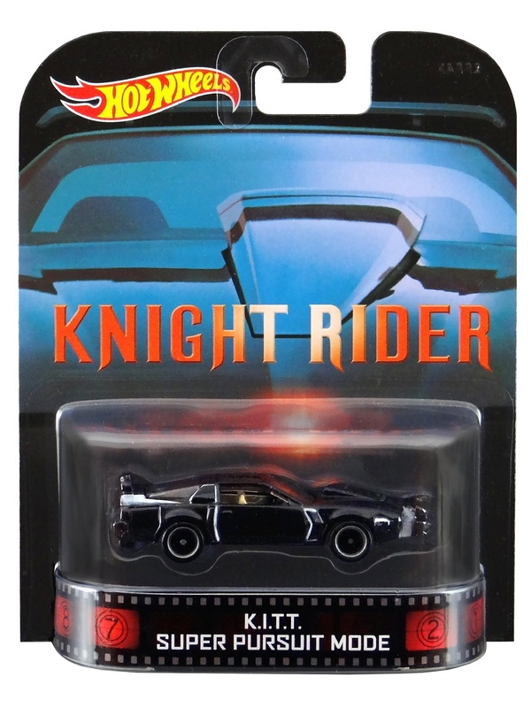 Hot Wheels - Retro Entertainment 2014 - Knight Rider -  K.I.T.T. Super Pursuit Mode