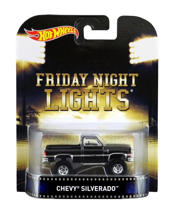 Hot Wheels - Retro Entertainment 2015 -  Friday Night Lights -  `83 Chevy Silverado 4x4