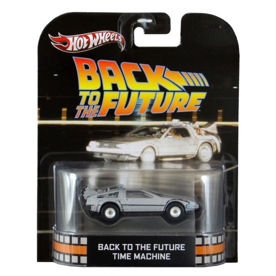 Hot Wheels - Retro Entertainment 2013 - Back to the Future - Time Machine  - Hobby Lobby CollectorStore