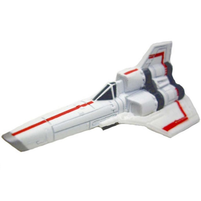 Hot Wheels - Retro Entertainment 2013 - Battlestar Galactica - Colonial Viper  - Hobby Lobby CollectorStore