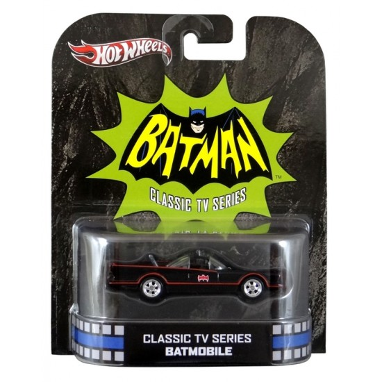 Hot Wheels - Retro Entertainment 2013 - Classic TV Series - Batmobile